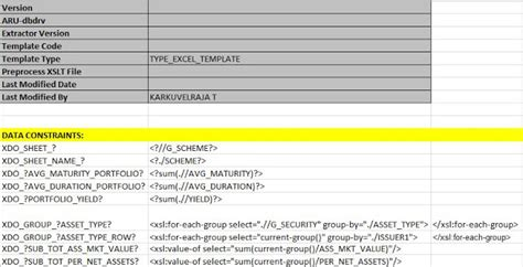 bi publisher data template exle oracle masterminds sheet excel report template