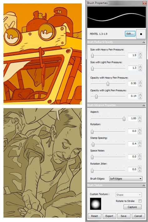 sketchbook pro apk 4 0 0 sketchbook pro brush settings digital painting