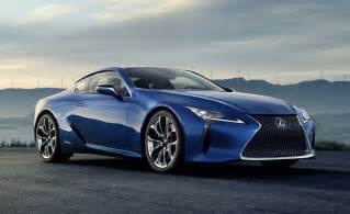 Lexus Coupe 2018 Lexus Lc 500h Geneva Debut For Hybrid Performance Coupe