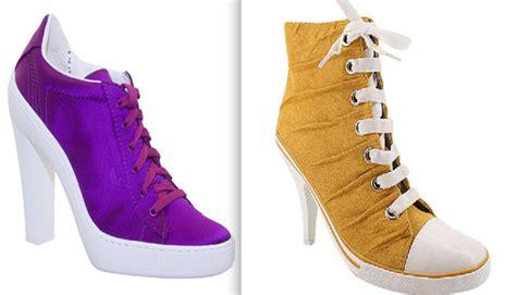 imagenes de zapatillas de tacon con frases de amor zapatillas con tac 243 n 191 horterada o moda