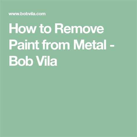best 25 remove paint from metal ideas on