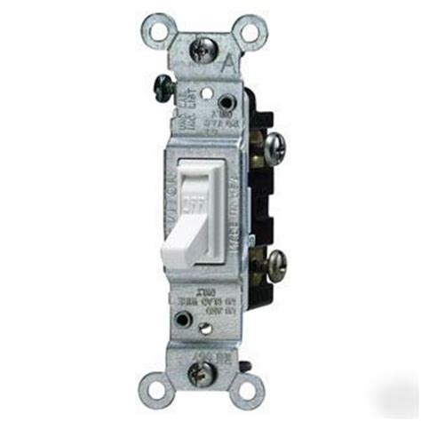 single pole toggle light switch ivory