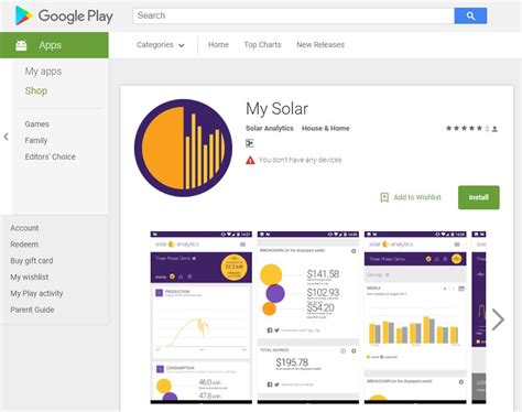 analytics android solar analytics android app available now solar analytics
