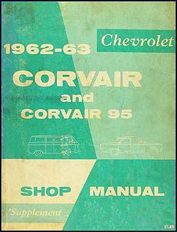 free online auto service manuals 1963 chevrolet corvair 500 navigation system 1962 1963 chevrolet corvair 95 repair shop manual original supplement