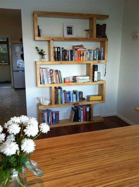 funky bookshelf felt