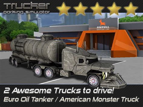 monster truck racing games 3d app shopper trucker parking simulator realistic 3d