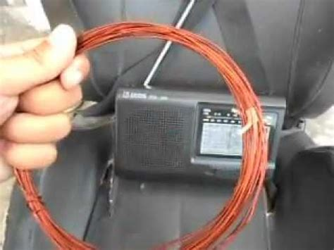 simple shortwave radio antenna tens tsr 909 avi