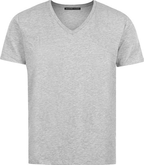T Shirt Grey selected drill t shirt grey
