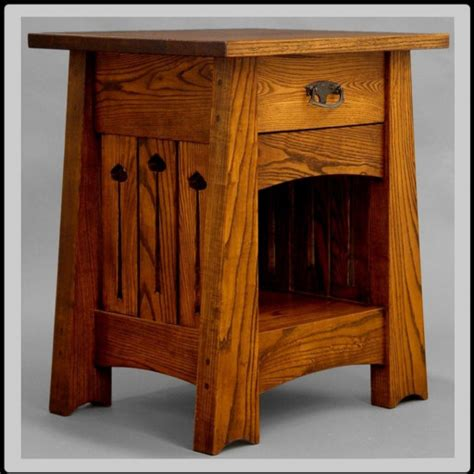 Mission Dining Room Chairs end table or nightstand arts and crafts mission