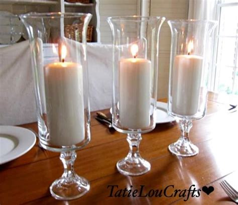 centerpiece candle holders set of 10 13 quot clear glass wedding centerpieces table