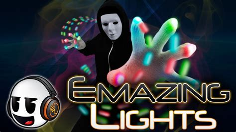 amazing lights emazinglights commerical rave gloves lightshow gloves