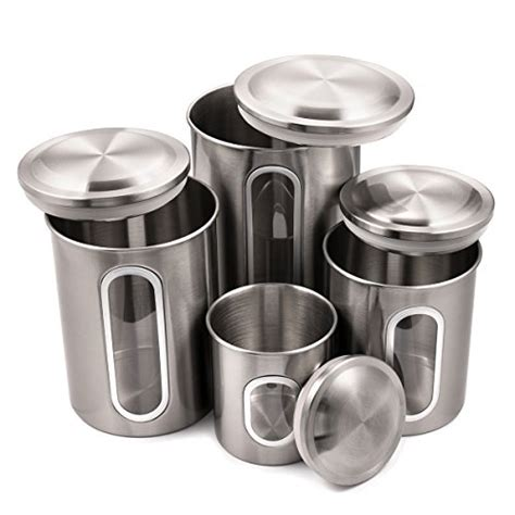 top 10 best kitchen canisters stainless steel best of