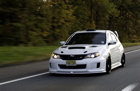 white subaru impreza hatchback white hatchback subaru sti a can dream pinterest