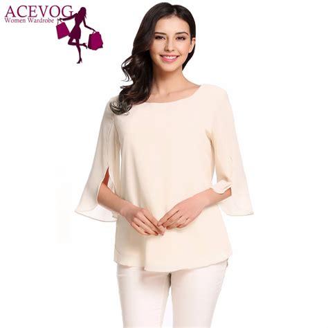 Sleeve O Neck Nevermore Ori produs acevog s blouse blusas summer autumn casual