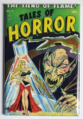 tales  horror   fridge magnet monster comic book