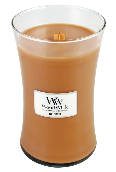 discontinued biscotti woodwick candle oz