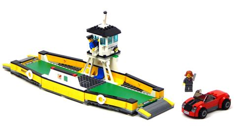 lego ferry boat lego city 60119 ferry lego speed build youtube