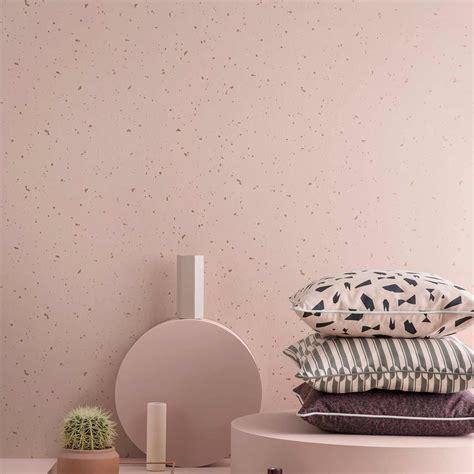 confetti wallpaper rose  ferm living  dotmaison