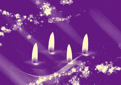 candele lilla free illustration advent candles time free
