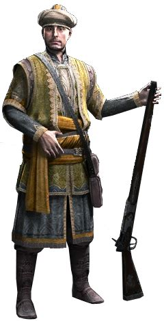 Ottoman Empire Assassins Creed by Image Acr Ottoman Gunman Render Png Assassin S Creed