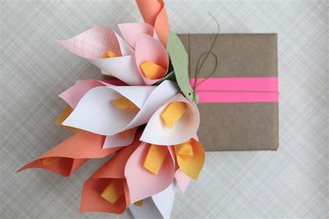 como hacer calas en papel crepe 6 flores de papel paso a paso pequeocio