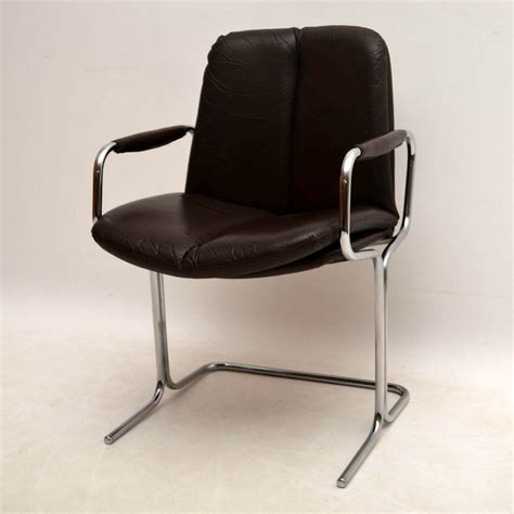 Retro Leather Dining Chairs Retro Leather And Chrome Chairs Chairs Seating