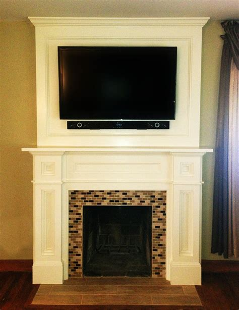 Houzz Fireplace Surrounds by Custom Fireplace Surround Traditional Dc Metro By Fa