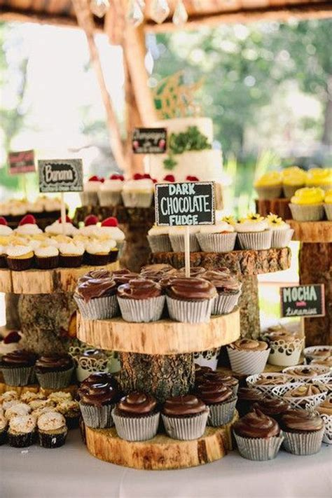 a rustic flavor 20 suggestions of how to expose beams 25 amazing rustic wedding cupcakes stands deer pearl