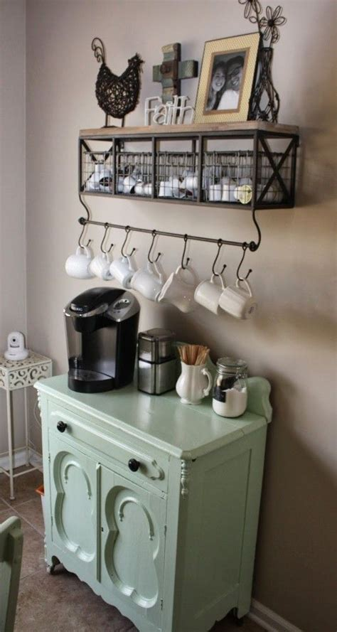 24 Home Coffee And Tea Station Décor Ideas To Try   Shelterness
