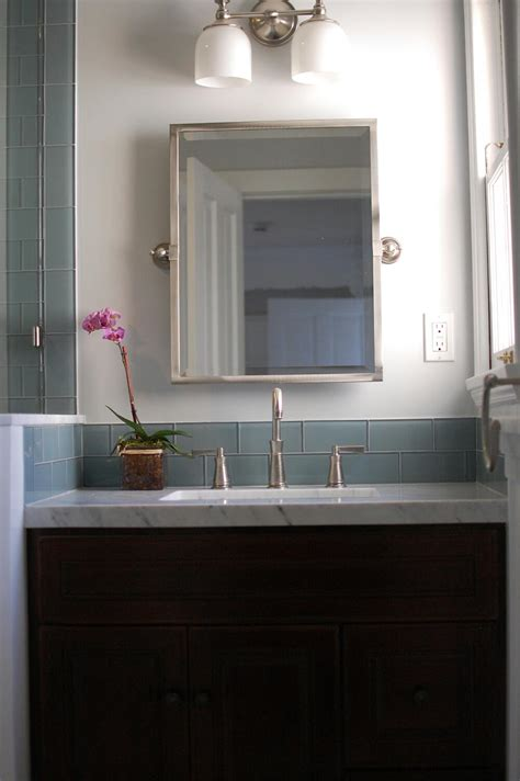 bathroom modern tile ideas backsplash: ocean glass subway tile bathroom backsplash subway tile outlet