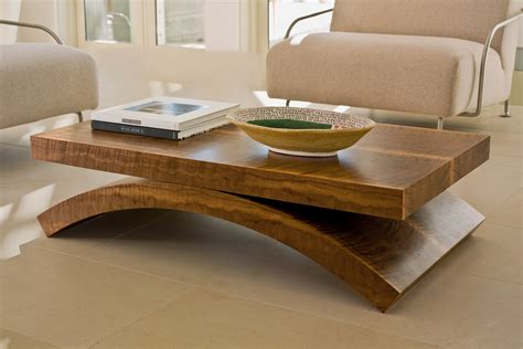 Contemporary Wood Coffee Tables Modern Wood Coffee Table