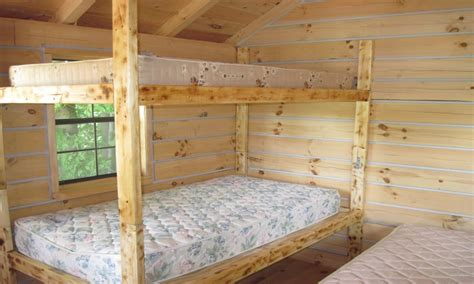 plans twin  queen bunk beds  adults twin  queen bunk bed plans cabin bed plans