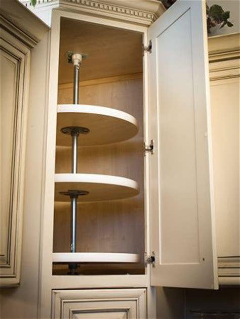 upper corner cabinet lazy susan appliance garage corner cabinets and cabinets on pinterest