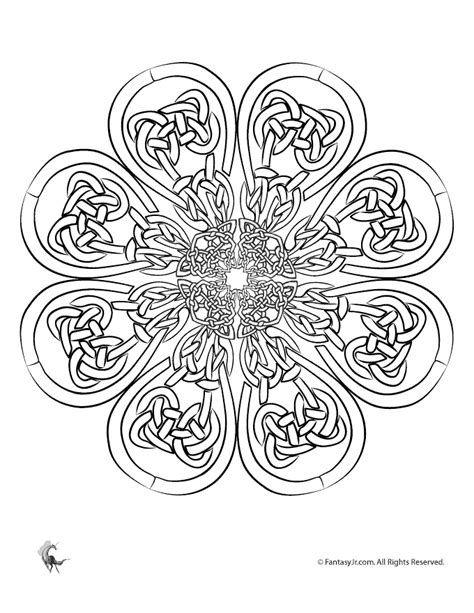 celtic mandala coloring pages free coloring pages celtic mandalas celtic