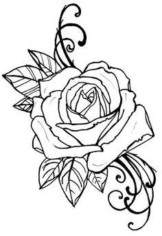double rose tattoo stencil www pixshark images