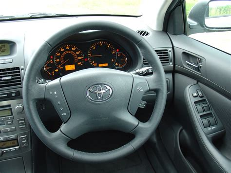 Toyota Avensis 2008 Interior by Toyota Avensis Tourer 2003 2008 Driving Performance