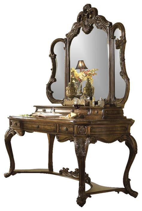 victorian bedroom vanity palais royale vanity writing desk and mirror rococo