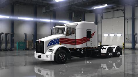 Kenworth T800 Usa Trucking Skin Ats Mods American