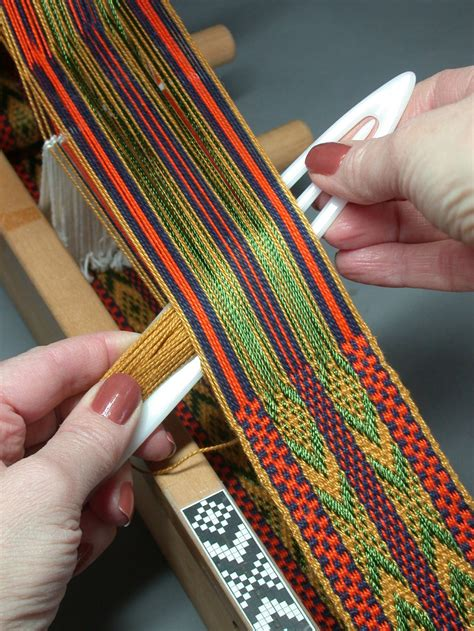Weaving Is The Way Forward by Weaving Post Inkle Weaving Loom And