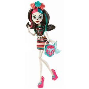 monster scaritage skelita calaveras doll damaged box