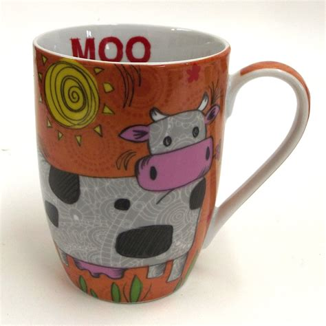 animal coffee mugs animal coffee mug owl cow pig mugs set 4