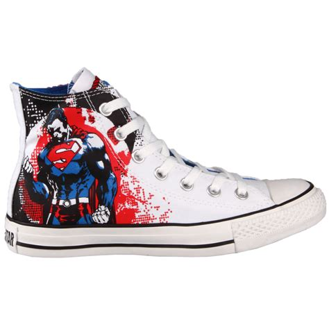 Superman Canvas Shoes converse chuck dc comic superman free shipping in