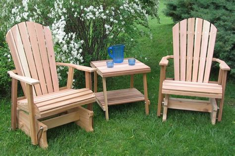 Wood Lawn Chair by Lawn Glider Furniture Home Designs Project