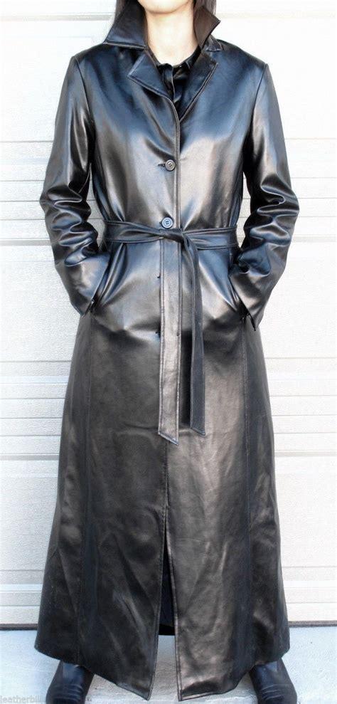 pvc vinyl trench coats long shiny pvc vinyl trench coat rubbery black charlotte