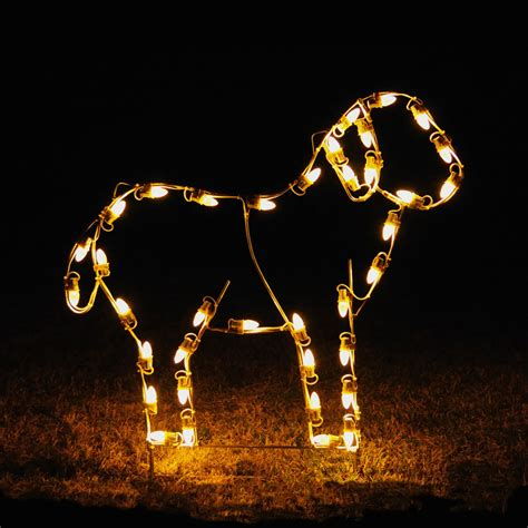 Outdoor Nativity Lights Lights Led Standing Light Display 3 W