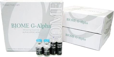 Biome G Alpha Whitening Antiaging la