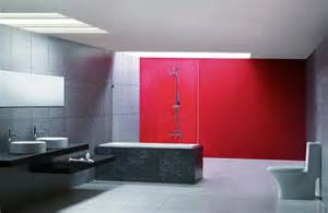 Gray And Red Bathroom - gray and red for bathroom download 3d house