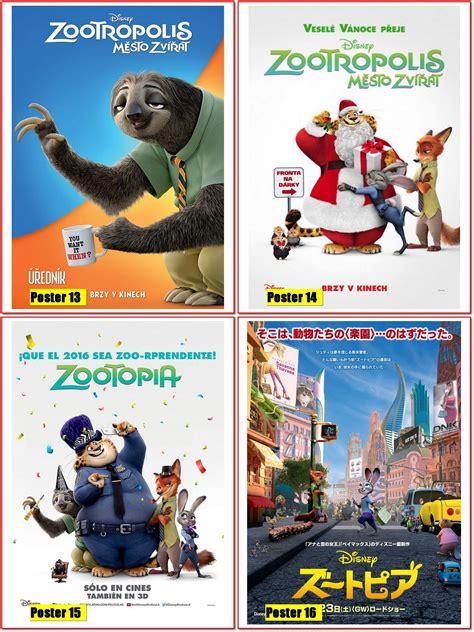 cinema 21 zootopia poster 30x40 zootopia essa cidade 233 posterplus elo7