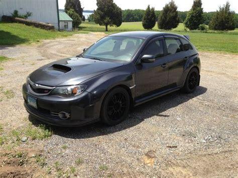 Find Used 2008 Subaru Impreza Wrx Sti Dark Grey Metallic