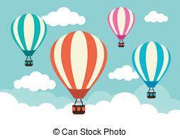 illustrator tutorial hot air balloon hot air balloon stock illustrations 10 019 hot air